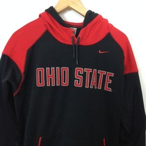 Nike Fit Therma Ohio State S Multi-Color Hoodie